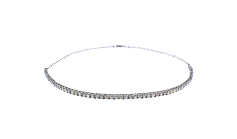 The Diamond Line Choker