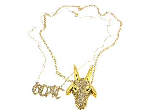 The G.O.A.T Necklace
