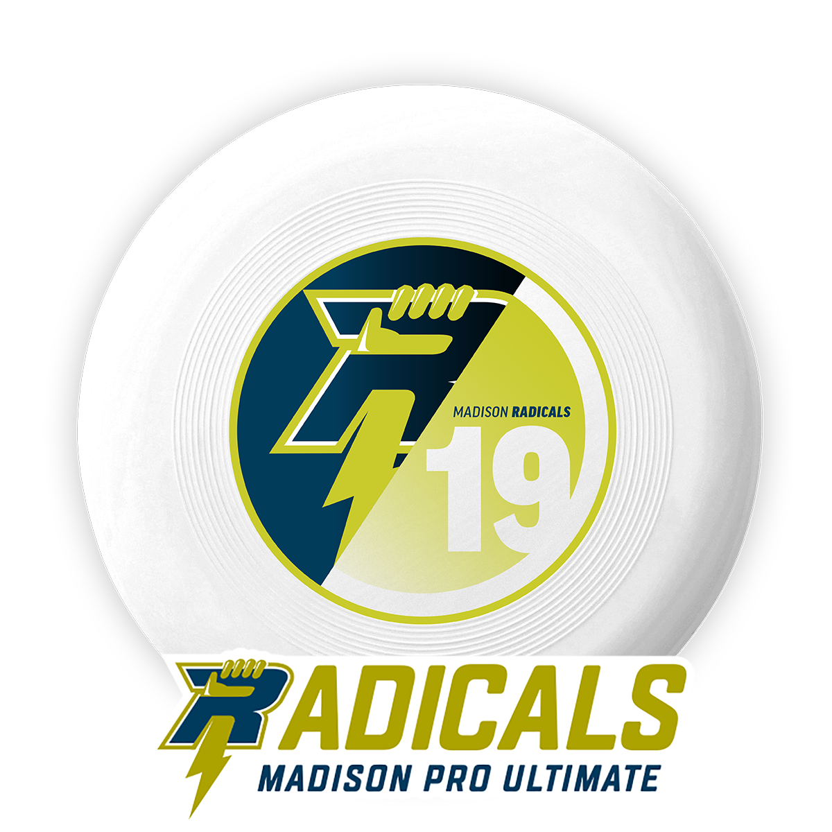 2019 Official Radicals Disc and Bumper Sticker