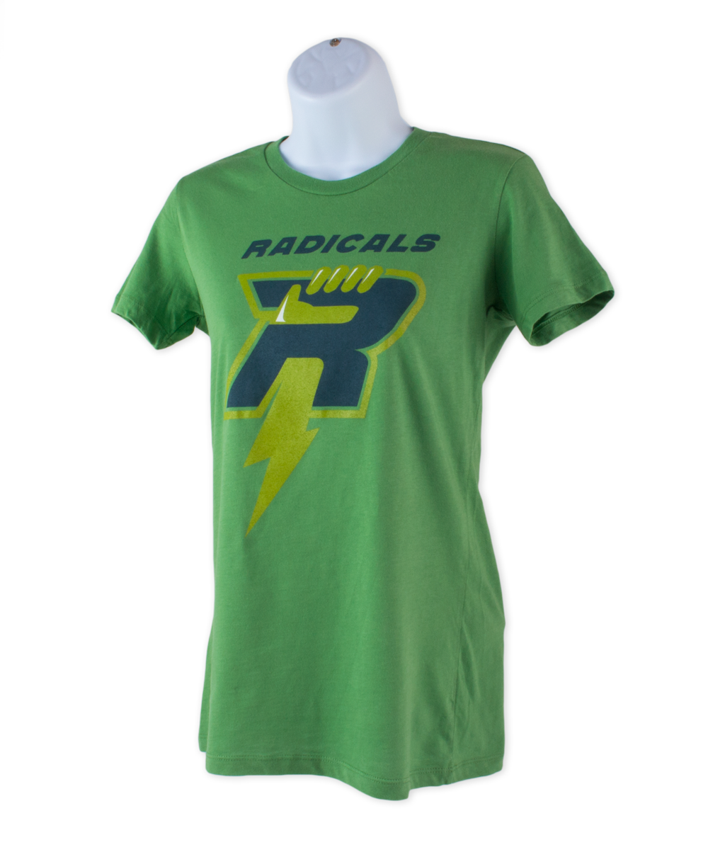 Kids Green Radicals Fan Shirt