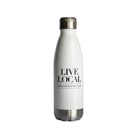 Live Local Water Bottle