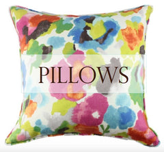 Designer Print Pillows