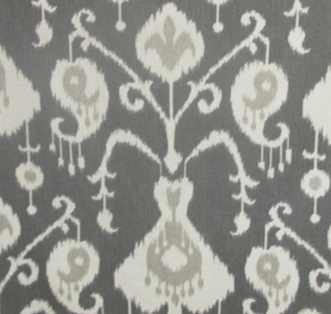 Bali Gray Fabric by the Yard