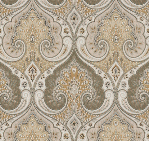 Lucianno Taupe Fabric by the Yard