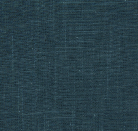Signature Linen Teal Fabric Swatch