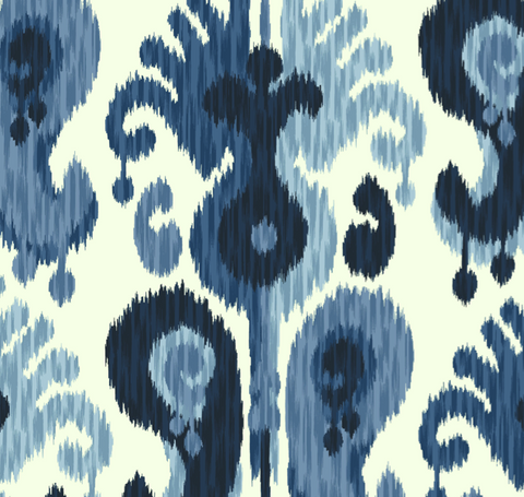 Sumatra Indigo Fabric by the Yard