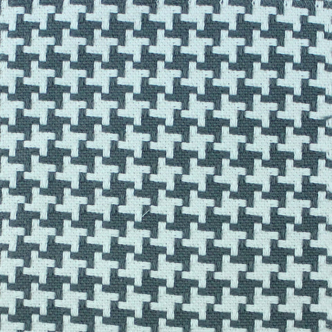 Tic Tac Toe Gray Fabric Swatch