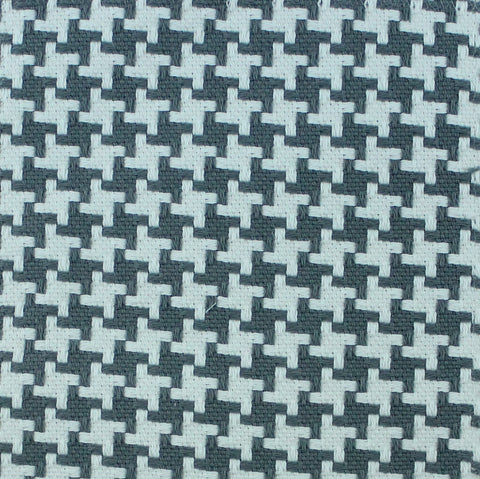 Tic Tac Toe Gray Fabric by the Yard