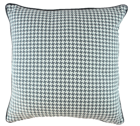 Tic Tac Toe Gray Pillow Cover
