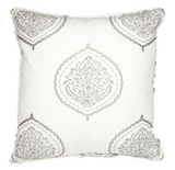 Mercer Taupe Pillow Cover