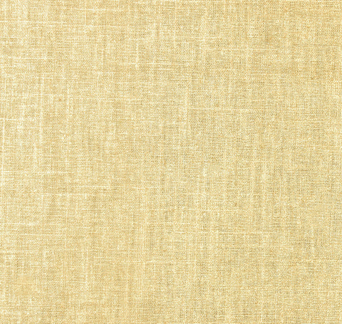 Linen Shimmer Gold Fabric by the Yard