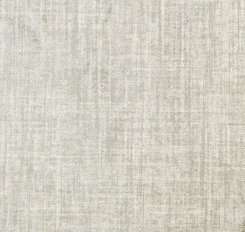 Linen Shimmer Silver Fabric by the Yard