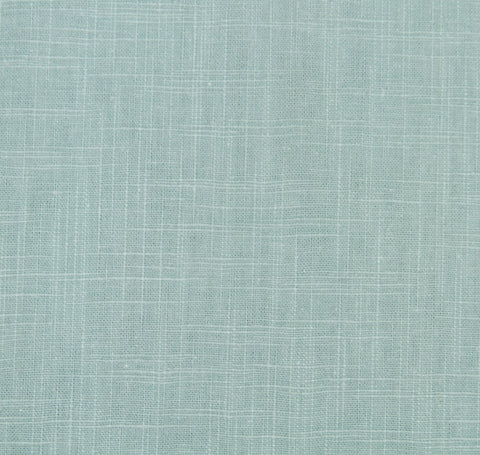 Signature Linen Aqua Fabric by the Yard