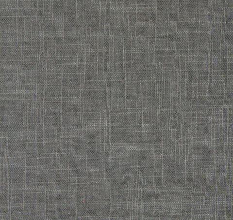 Signature Linen Charcoal Fabric by the Yard