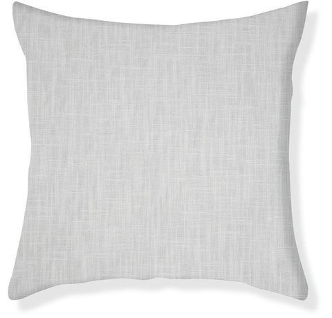 Signature Linen Gray Pillow Cover