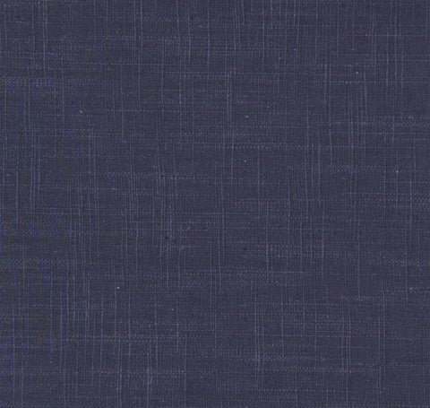 Signature Linen Navy Fabric by the Yard