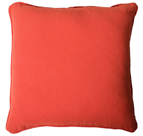 Signature Linen Coral Pillow Cover