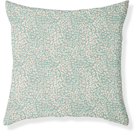 Untamed Aqua Pillow Cover