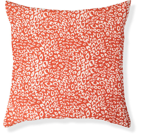 Untamed Coral Pillow Cover