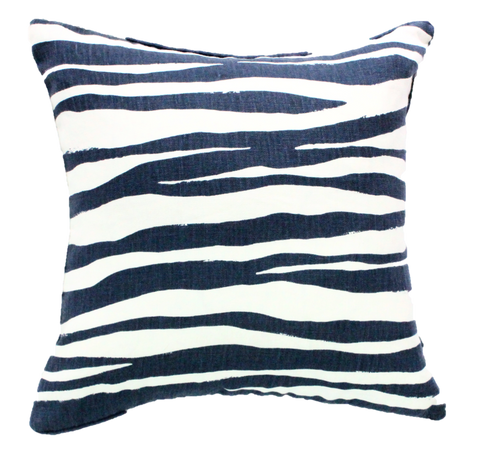 Zanzibar Navy Pillow Cover