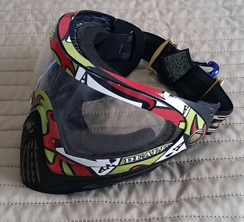 Custom Paintball Mask and Loader Wraps
