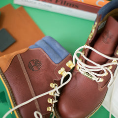 Timberland x Just Don 6 Inch Leather Boot - Brown Leather