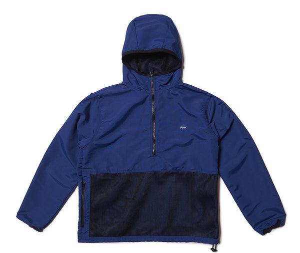 Raised by Wolves Mesh Pocket Anorak - Blue