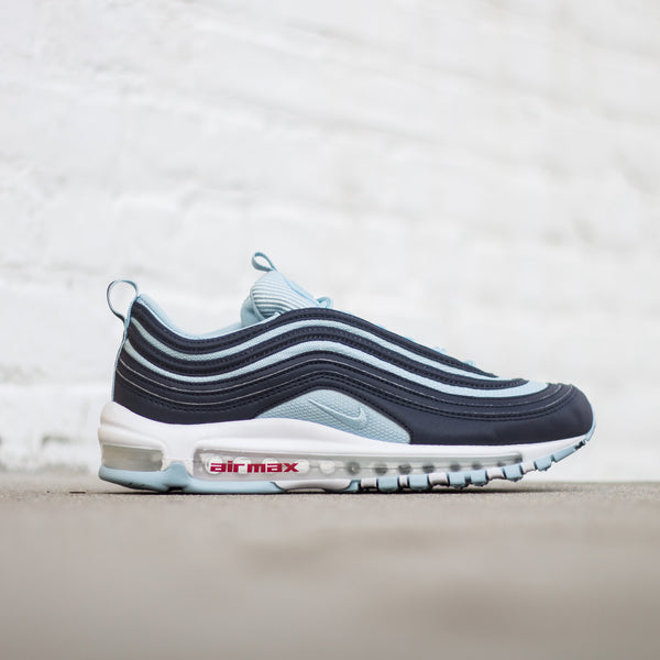 Air Max 97 Premium - Dark obsidian/Ocean Bliss-University Red