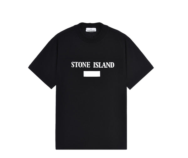 Stone Island 3m Chest Logo - Black