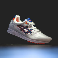 reputable site 343bf ac0e1 Asics Gel-Saga - White/Asics Blue