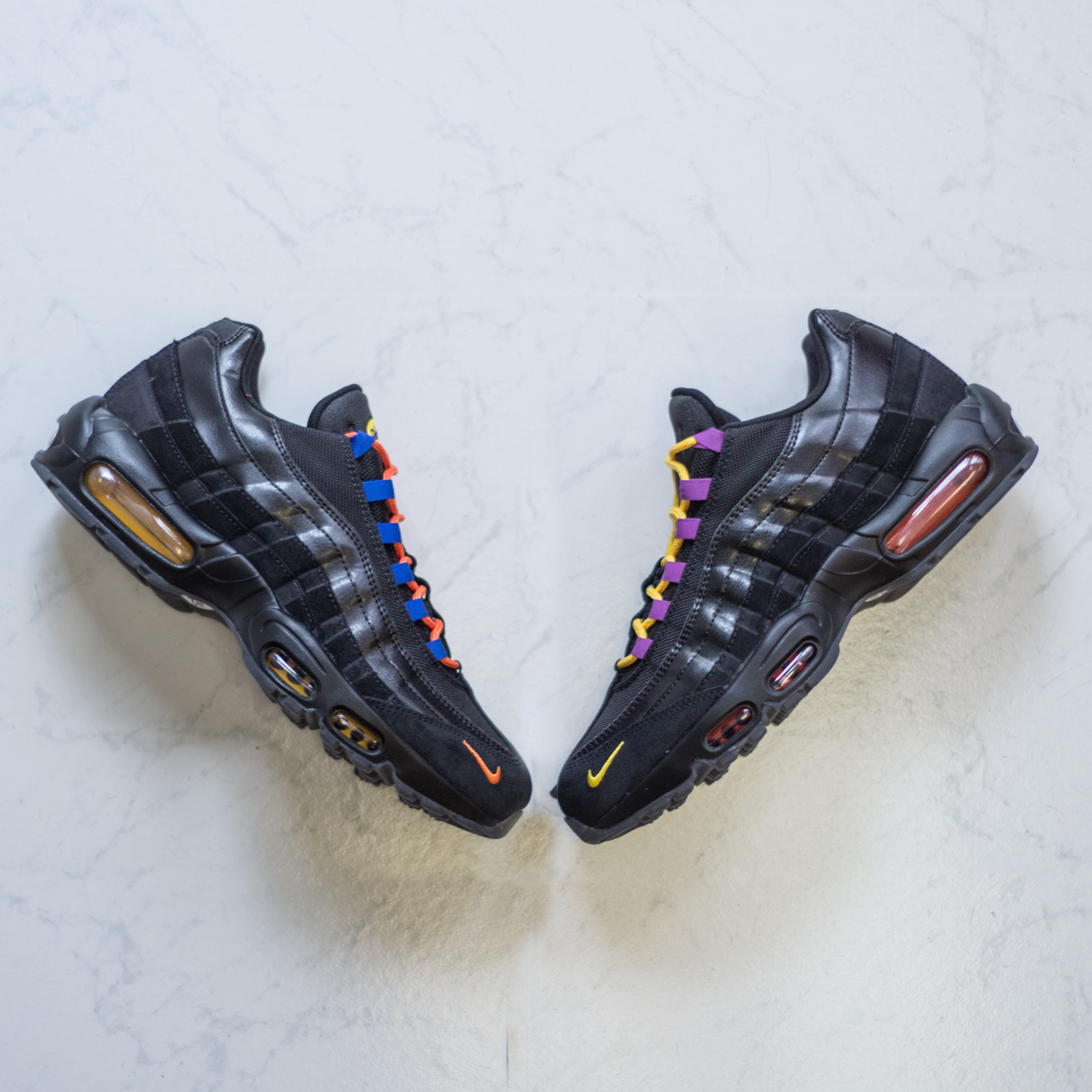 NIKE Air Max 95 - LA vs. NY – History of New York Powered by  Sneaker Lounge a7275ca4a94c