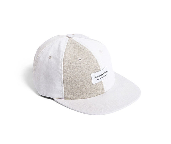 Raised by Wolves Belmont Polo Cap - Natural