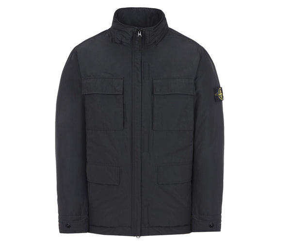 Stone Island Micro Reps with PrimaLoft Insulation Technology- Black