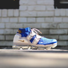 NIKE  VaporMax Flyknit Utility - Racer Blue/Muted Bronze-Moon Particle