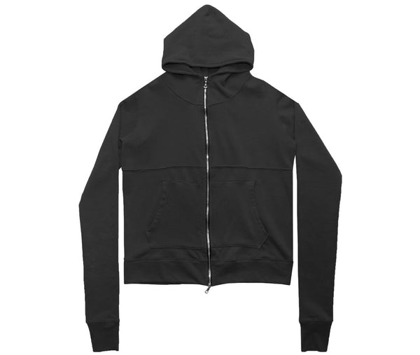 Premium Co French Terry Full Zip - Vintage Black
