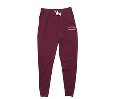 Raised by Wolves College Sweatpants - Wine