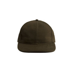 Reigning Champ Knit Midweight  Terry 6 Panel Hat - Olive