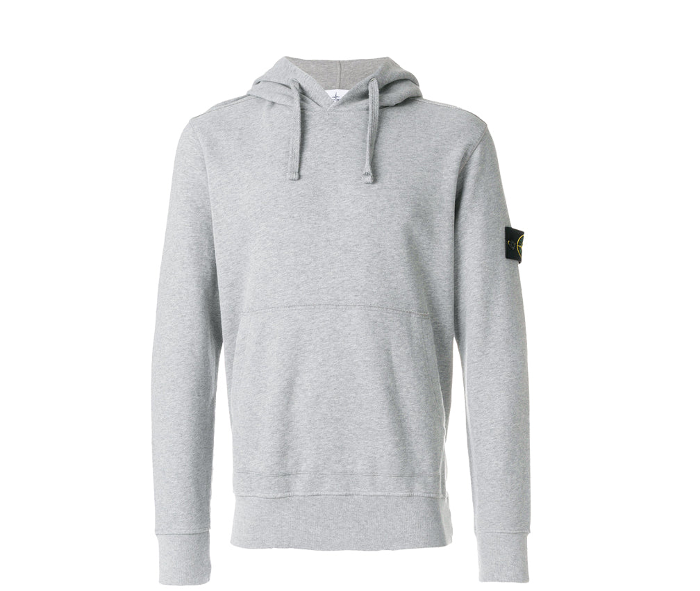 511c3bf357dc Stone Island Pullover Hoodie - Grey – History of New York Powered by   Sneaker Lounge