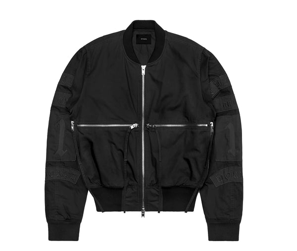 Stampd Time And 1 World Bomber - Black