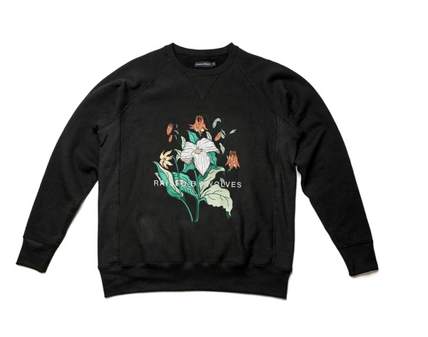 "Raised by Wolves ""Trillium Crewneck Sweatshirt"""