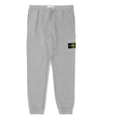 Stone Island Fleece Garment Dyed Sweatpants