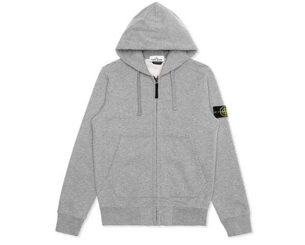 Stone Island Full Zip Hooded Sweatshirt