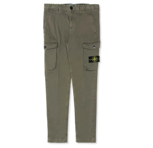 Stone Island Old Dye Treatment Cargo Pants