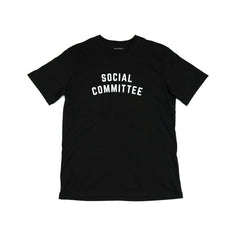 Raised by Wolves Social Committee T-Shirt - Black