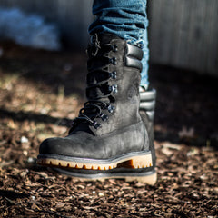 Timberland Super Boot with Fur - Black
