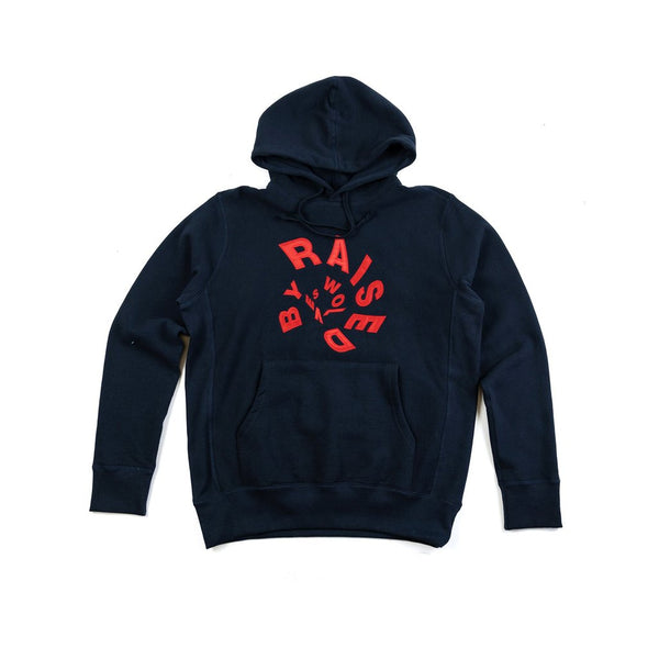 Raised by Wolves Twister Hooded Sweatshirt - Midnight
