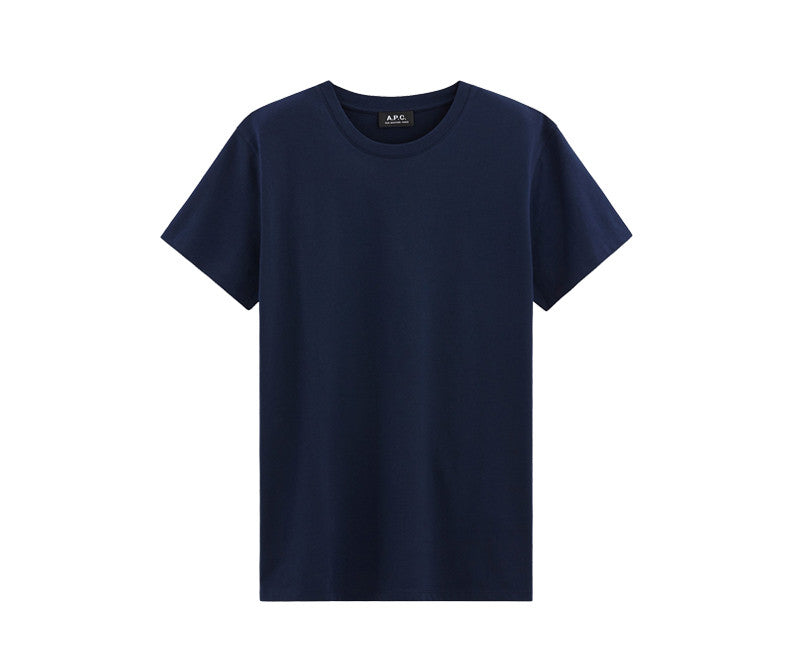 5614dee421c A.P.C. Jimmy T-Shirt - Dark Navy Blue – History of New York Powered by   Sneaker Lounge
