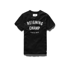 Reigning Champ Gym Logo Set-In T-shirt - Black