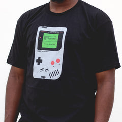 HNY GameBoy T - Black
