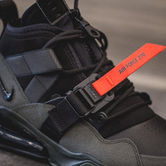NIKE Air Force 270 Utility - Sequoia/Black Habanero-Red
